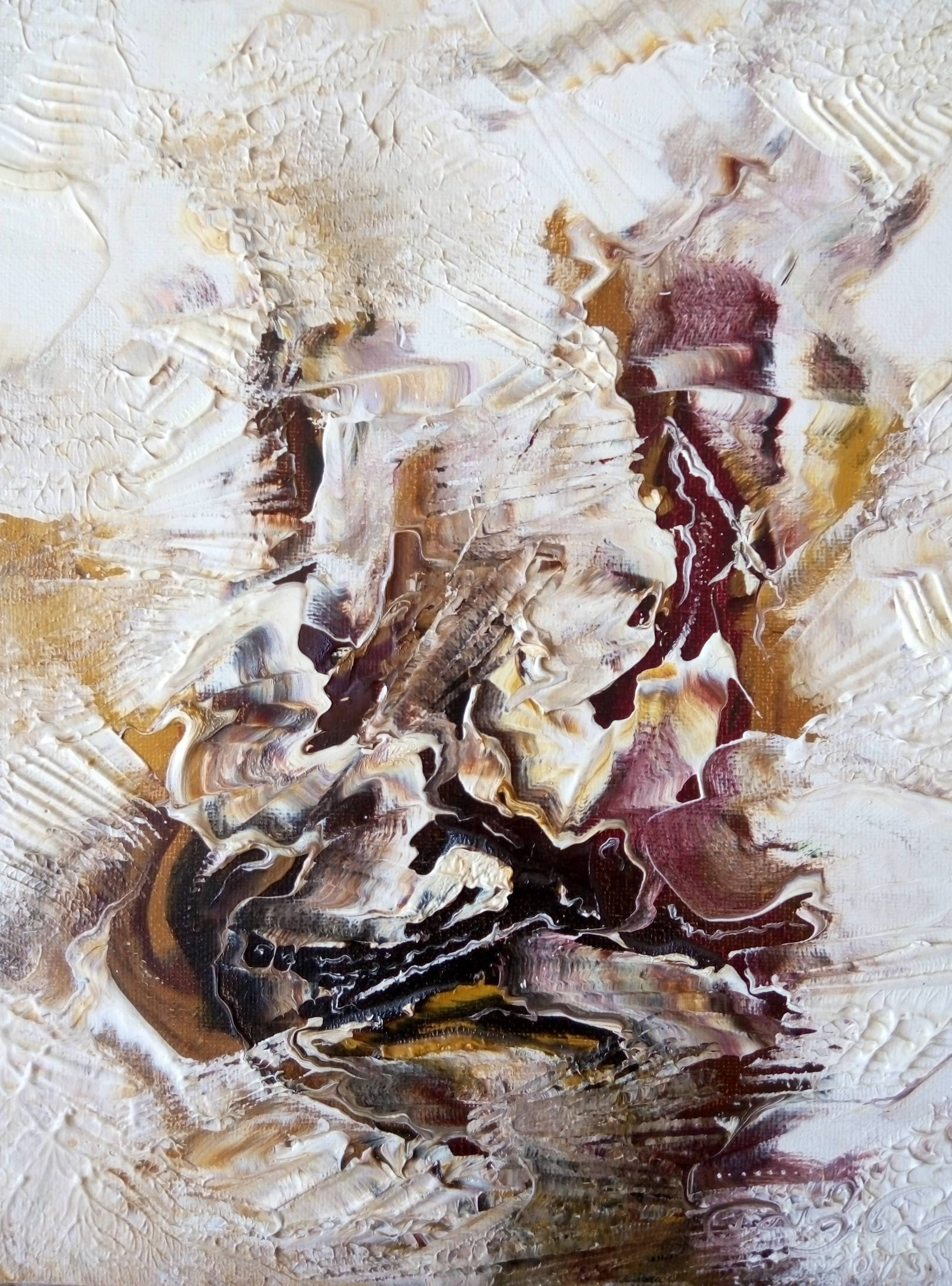 «Сванети»      холст, масло «Svaneti»        oil on canvas                                                      30x24,  2013