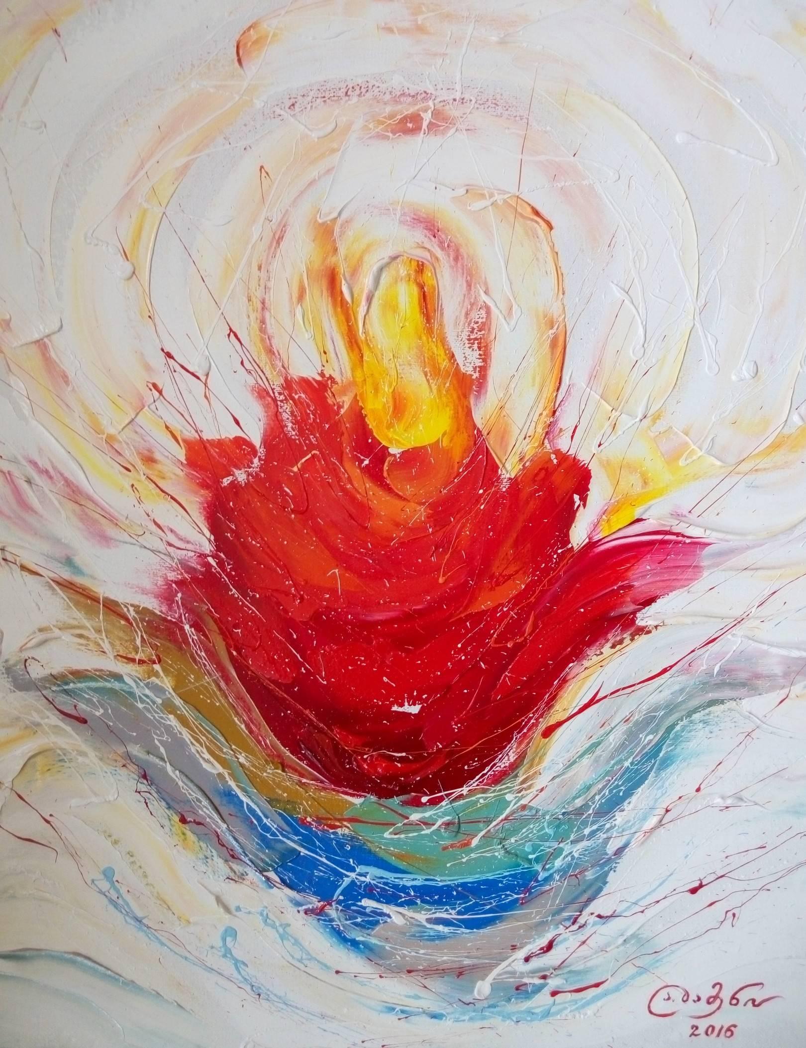 «Пробуждение»          холст, масло «Awakening»               oil on canvas                                                 60x50,  2016