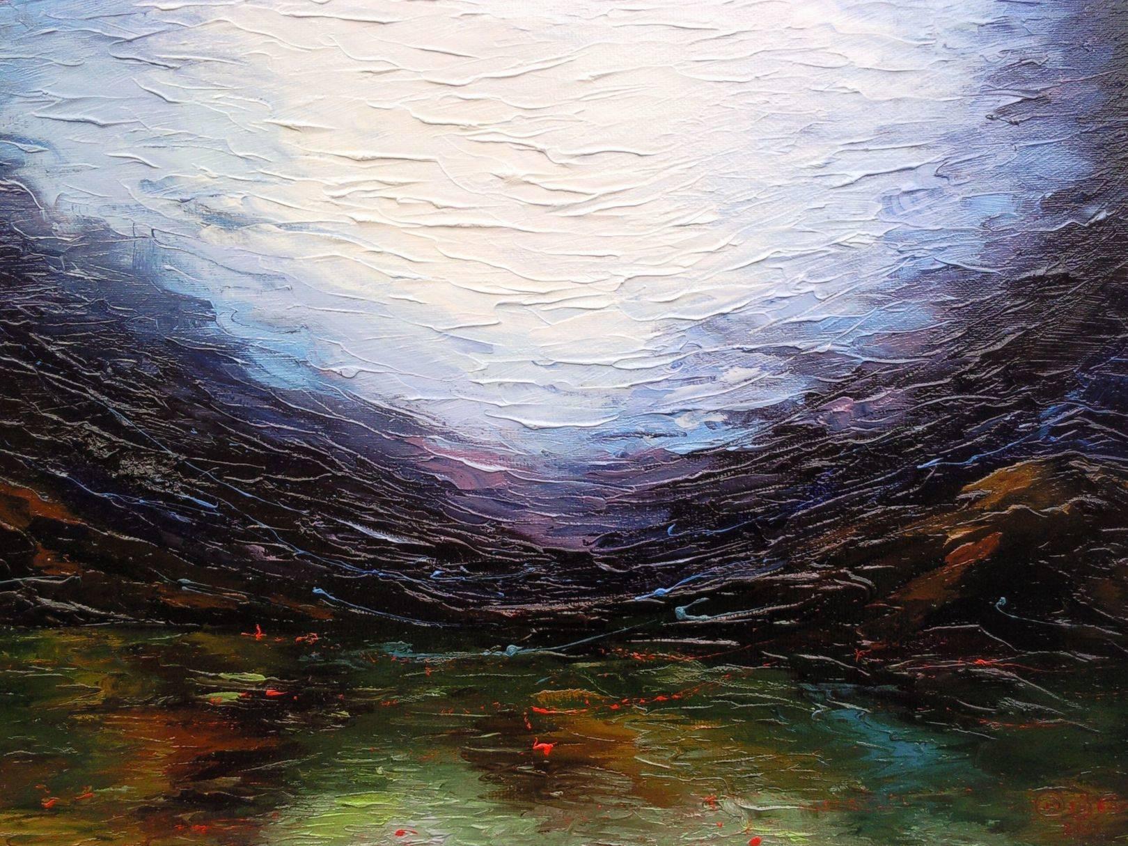 «Пейзаж»          холст, масло «Landscape»     oil on canvas                                                55x80,  2012