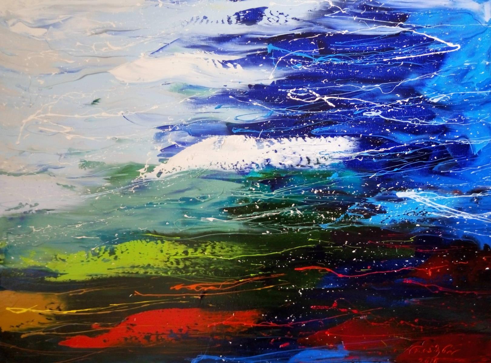 «Пейзаж»          холст, масло «Landscape»     oil on canvas                                                50x60,  2016