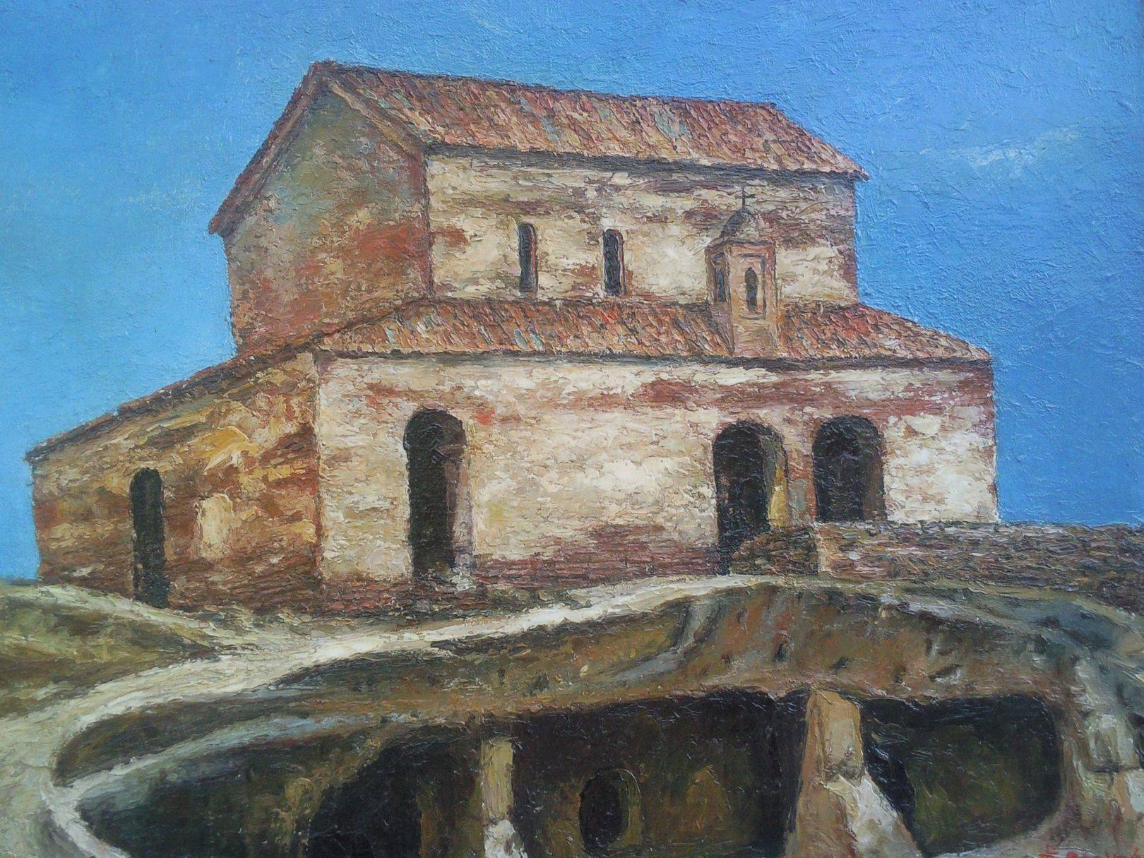«Уплисцихе»         холст, масло «Uphlistsikhe»       oil on canvas 50x60, 2012