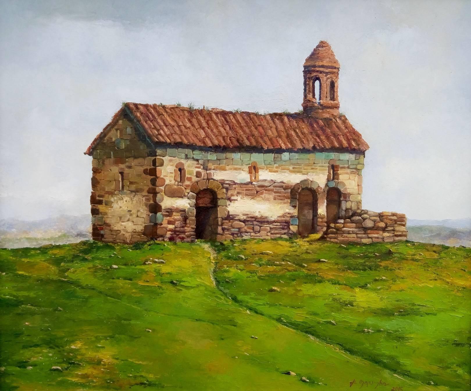«Старая базилика»       холст, масло «Old basilica»                 oil on canvas 50x60, 2015