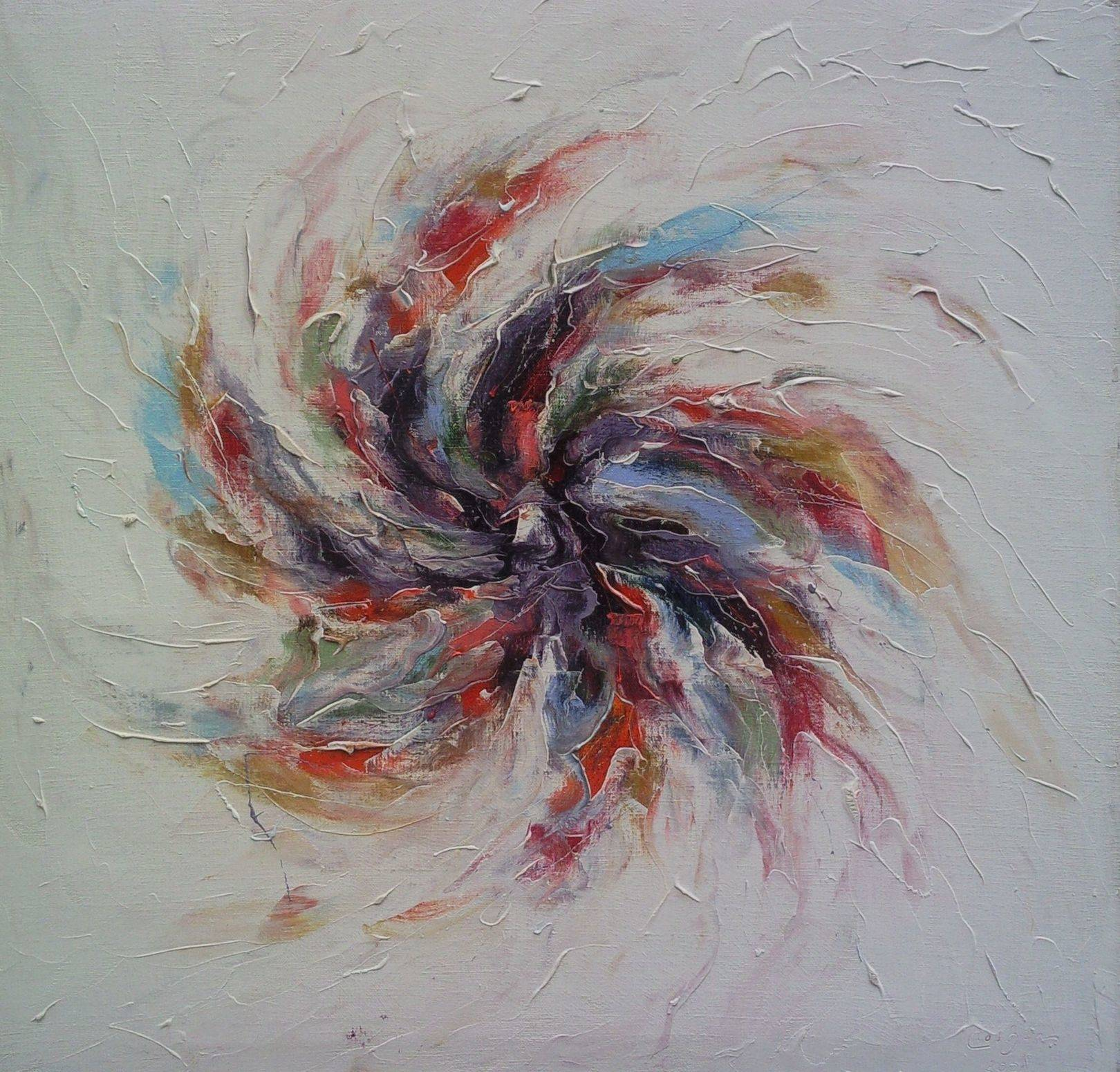 «Рождение галактики»                 холст, масло