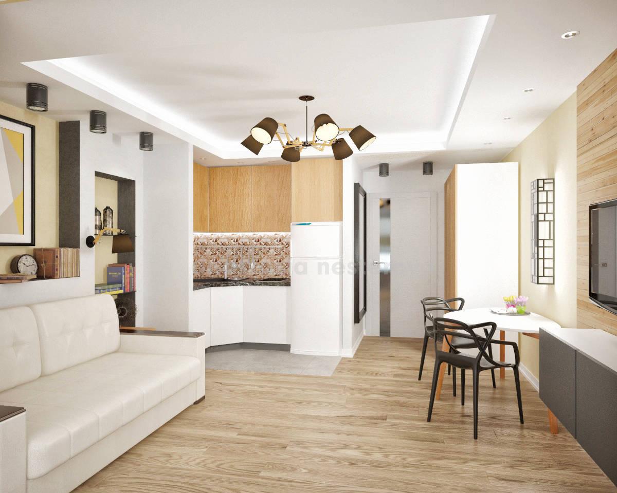 Комната-кухня