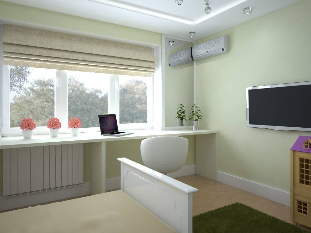 Интерьер в стиле неоклассика/Interior In Neoclassical Style