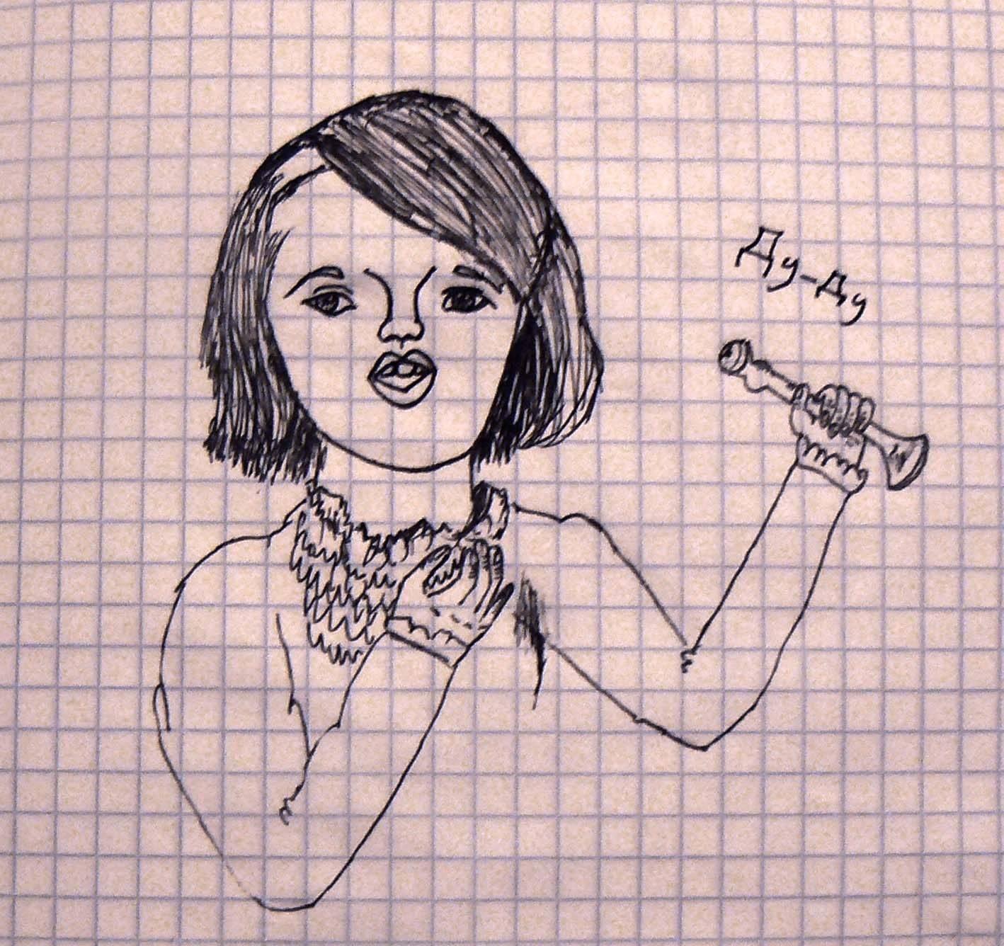 """Федутенко Настя ( Все в школе называют её """"Дудочка"""" )."""