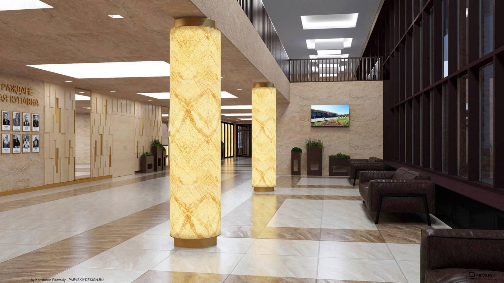 Фойе главного входа 1 этаж