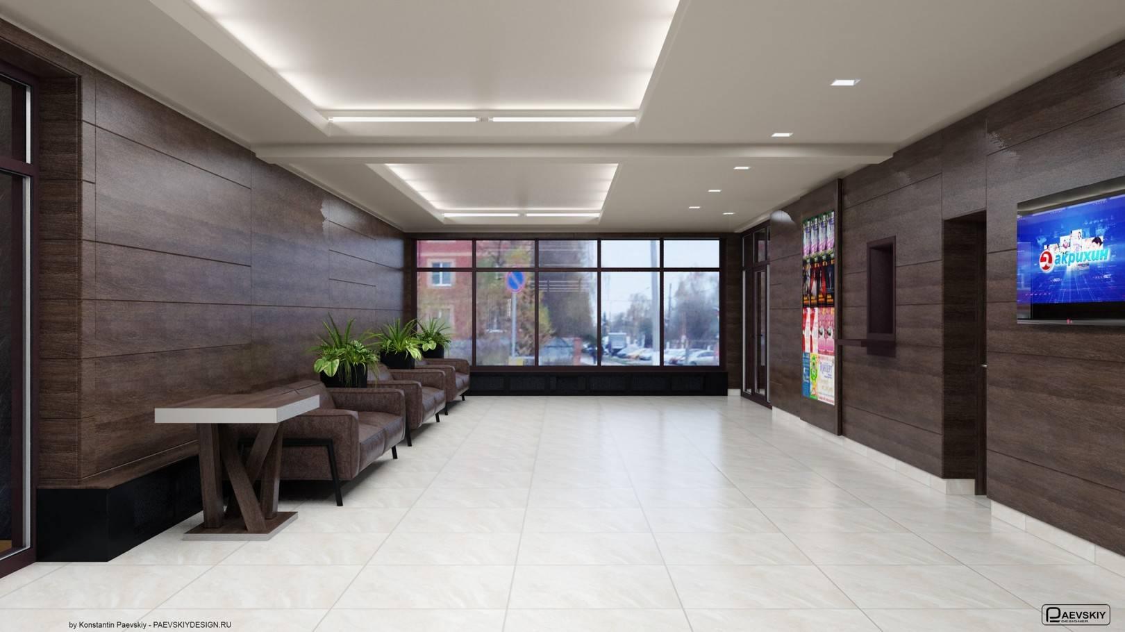 Фойе кассы 1 этаж