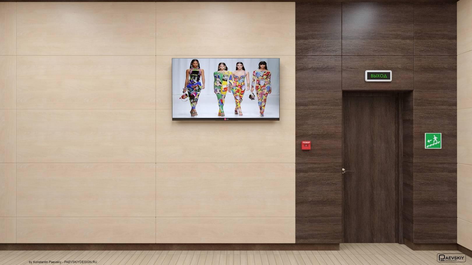Фойе кабинеты 2 этаж