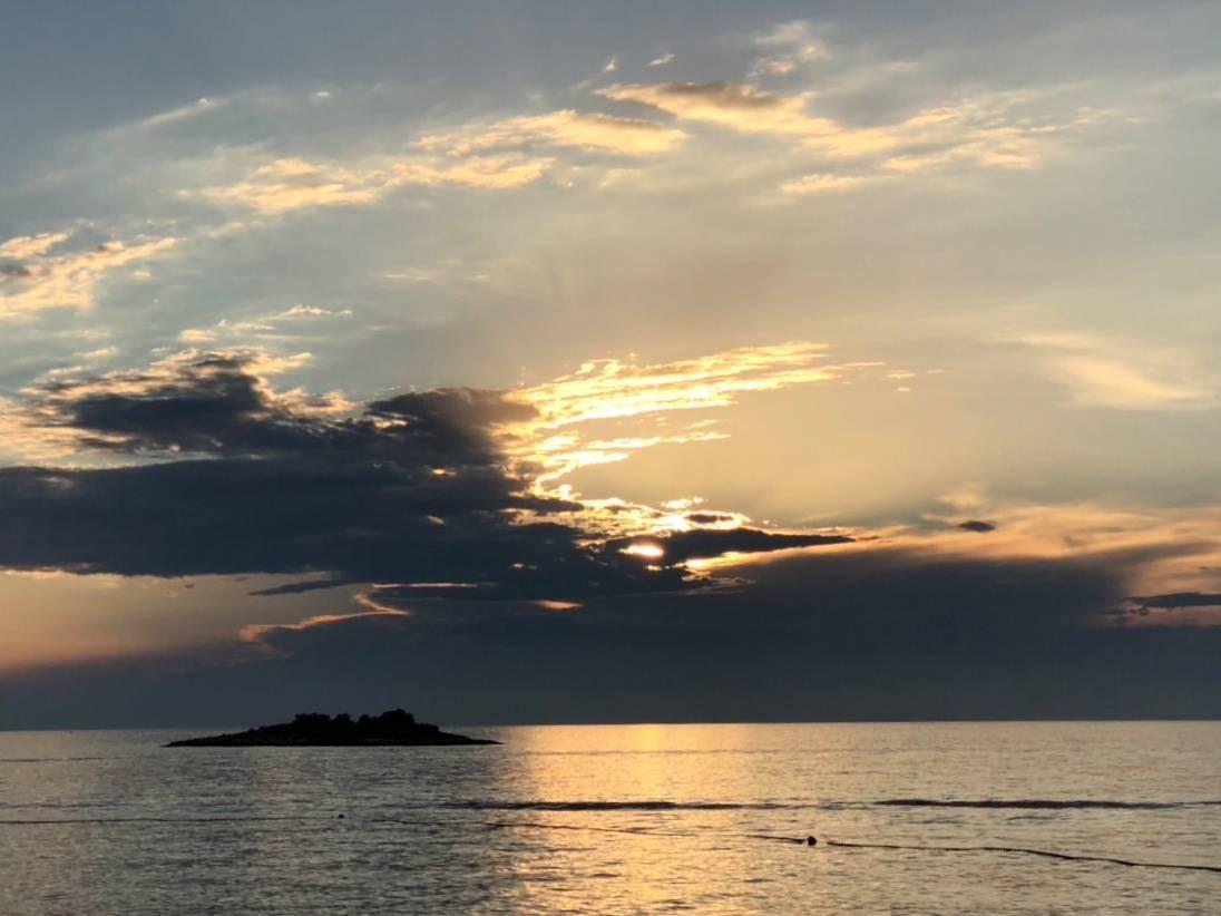 Море, вечер, закат