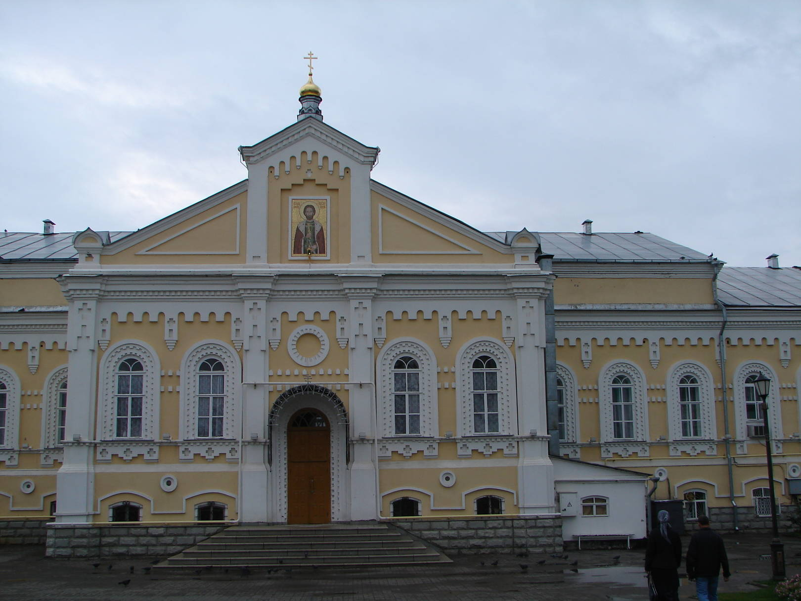 Храм Александра Невского Серафимо-Дивеевского монастыря