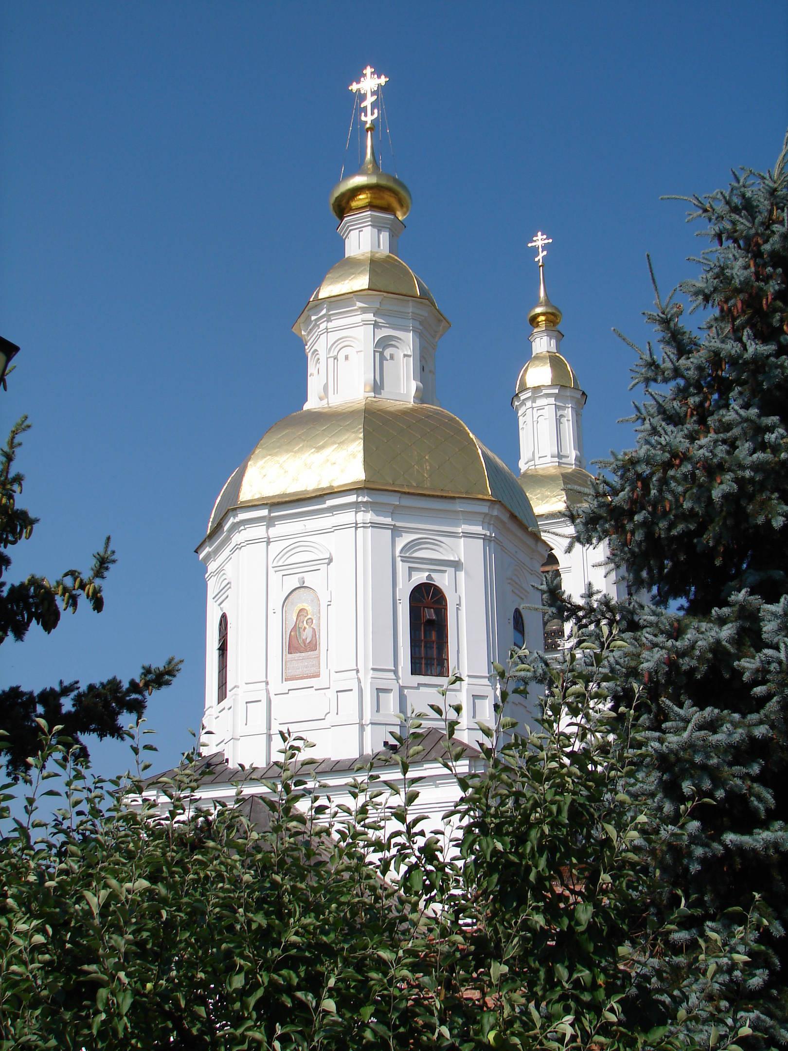 Казанский собор Серафимо-Дивеевского монастыря