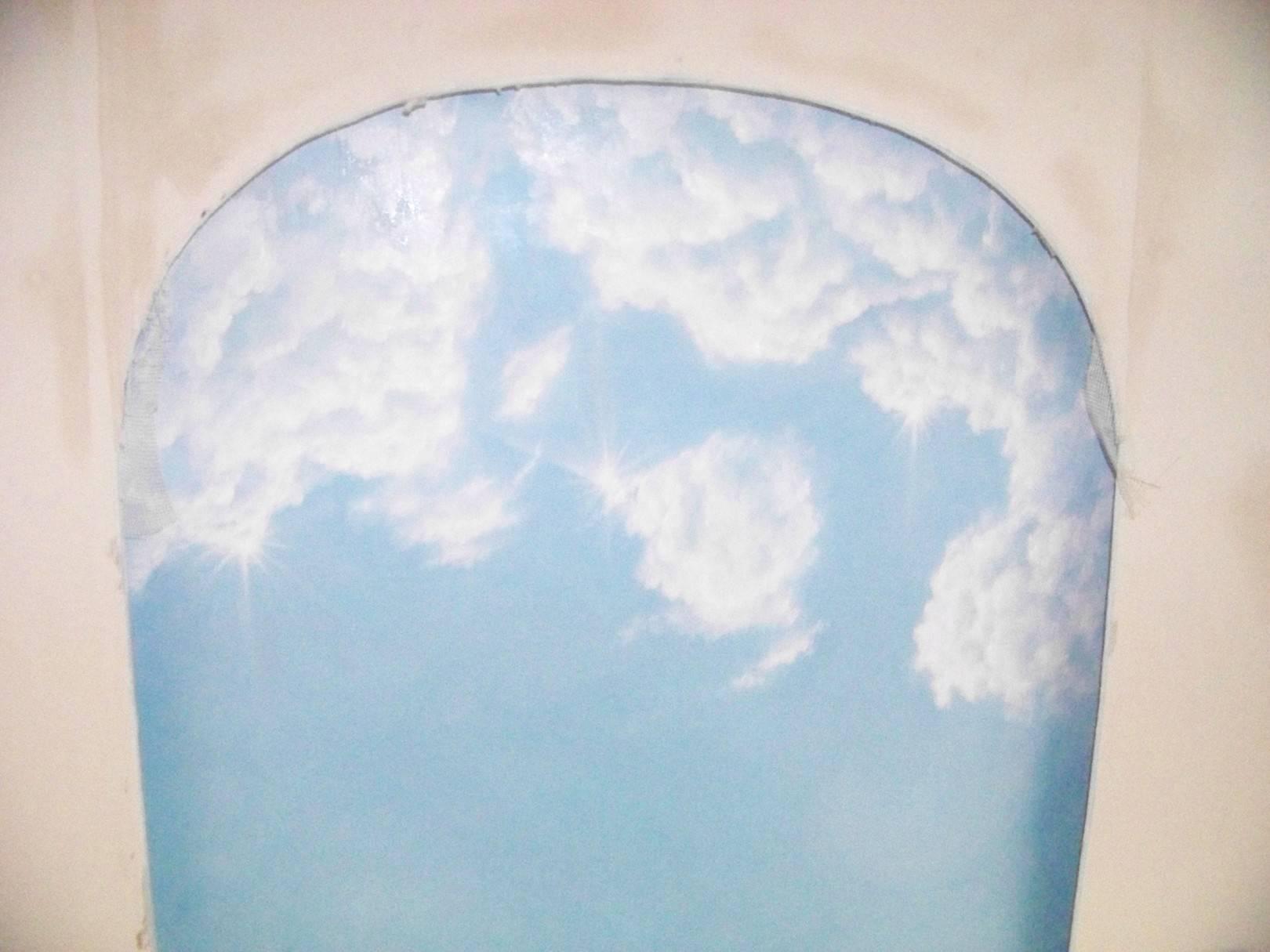 Розпис стелі(Небо)