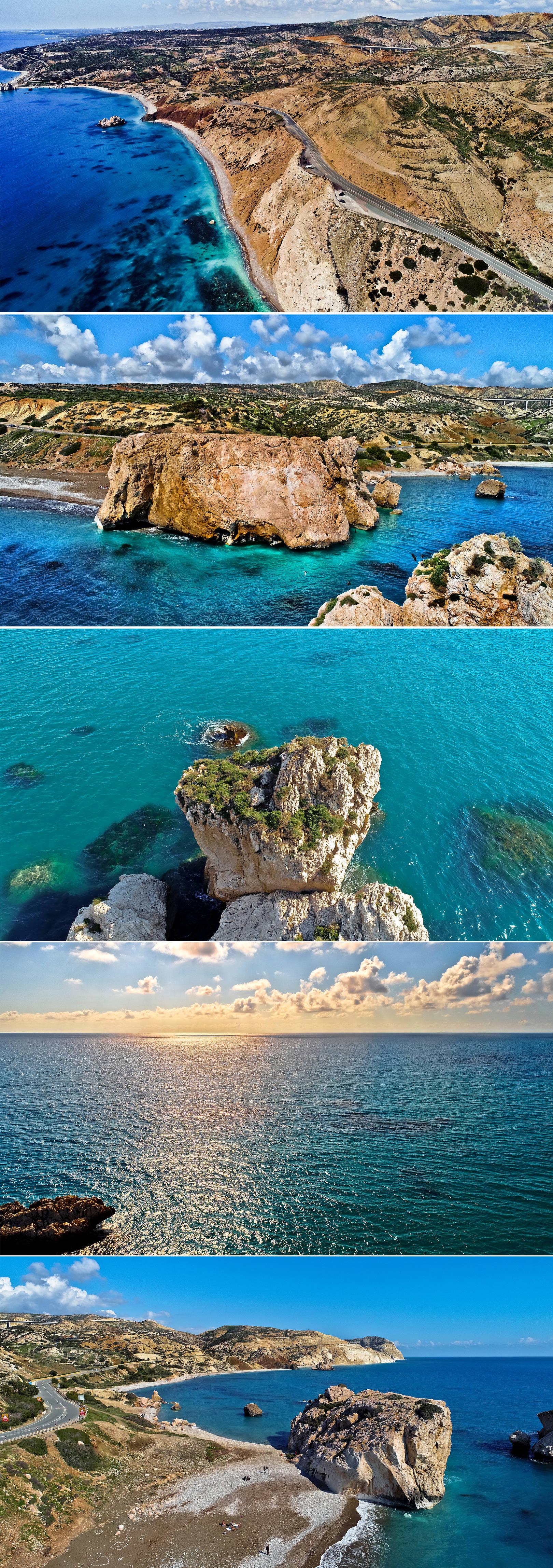 Пляж Афродиты, Кипр