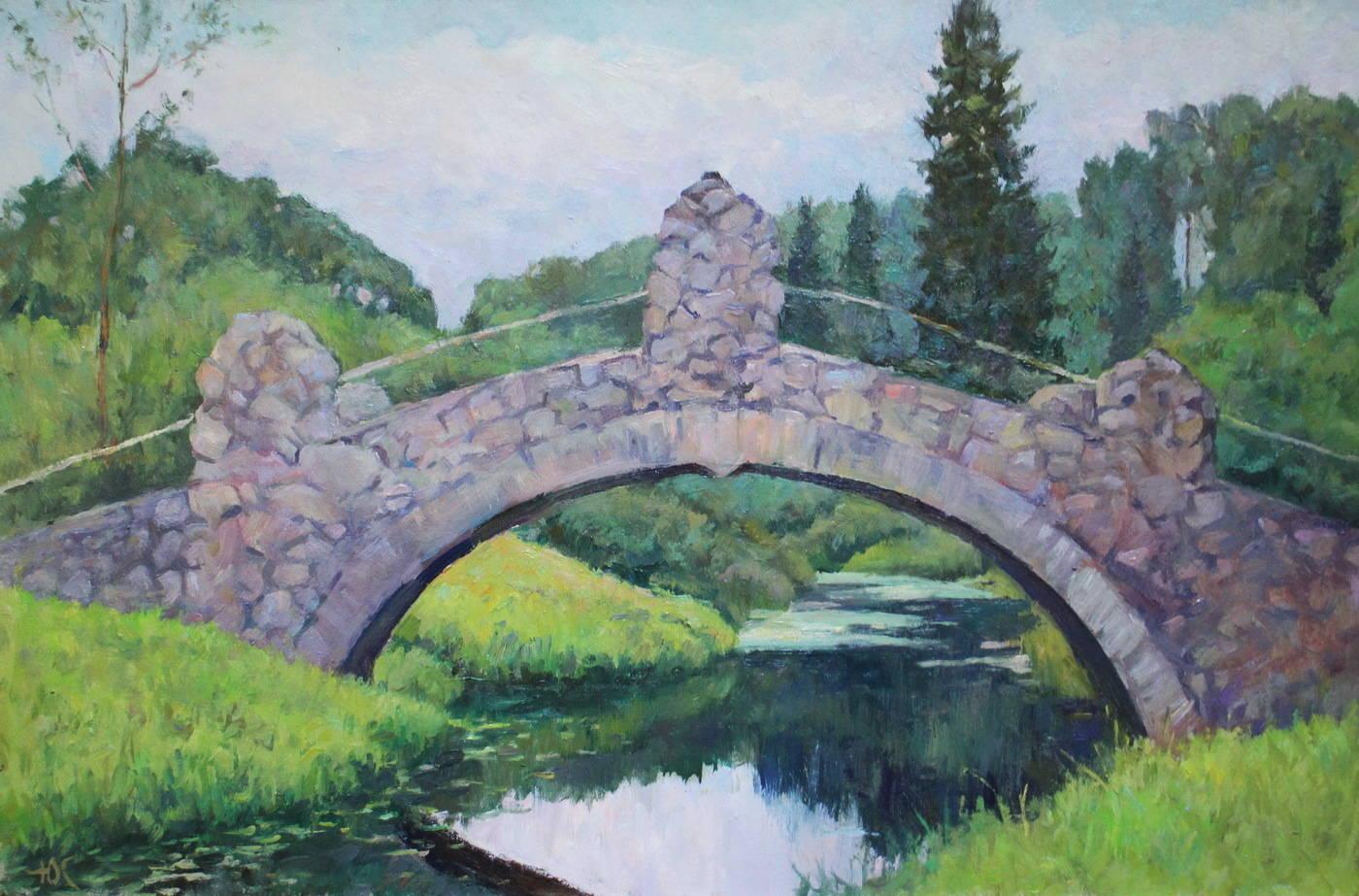 Мост в Павловском парке