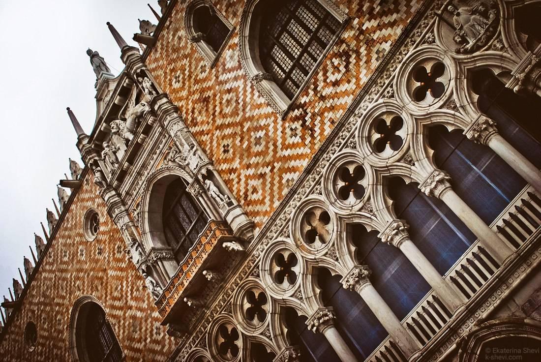 Венеция дождливая