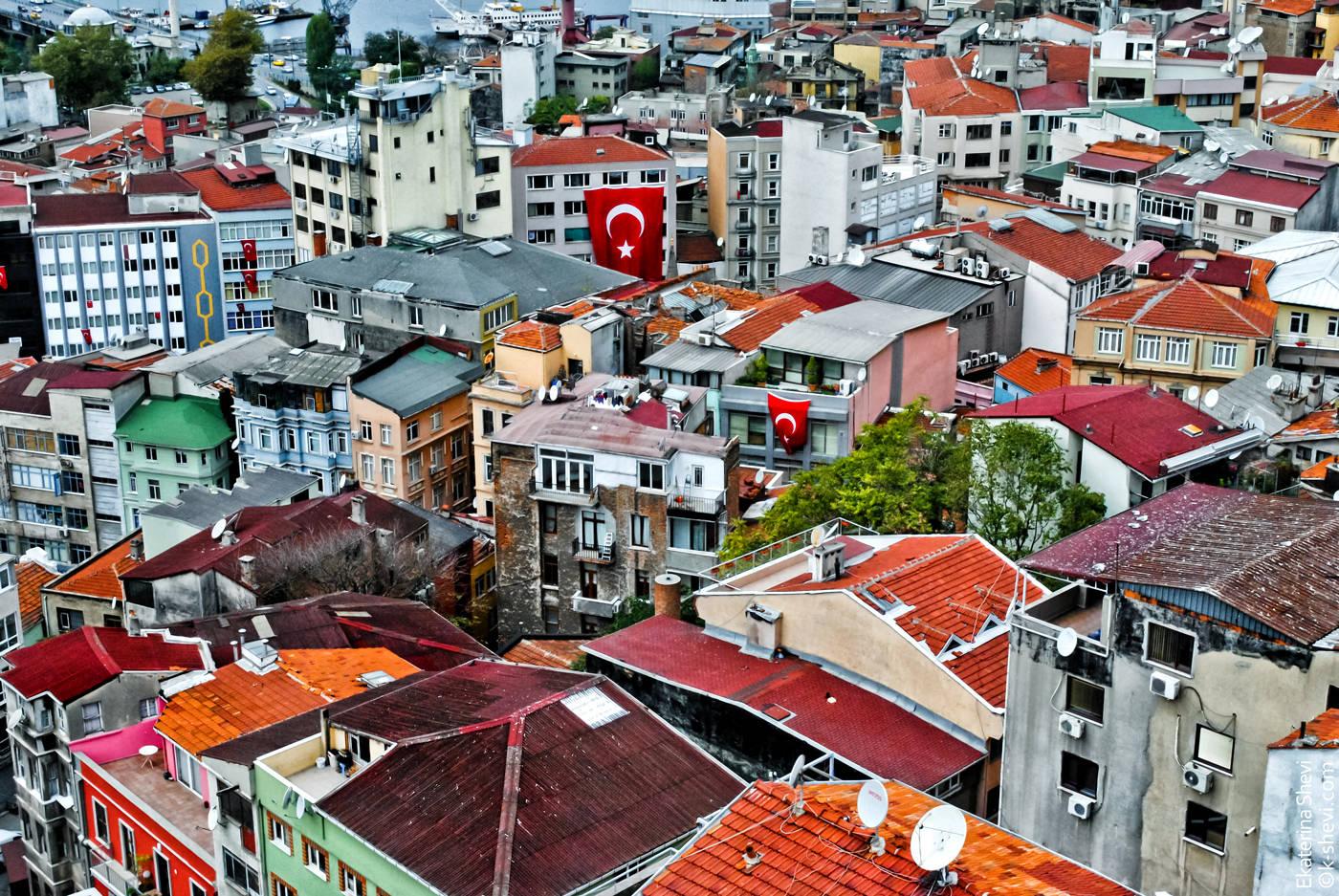 Стамбул. Галата.