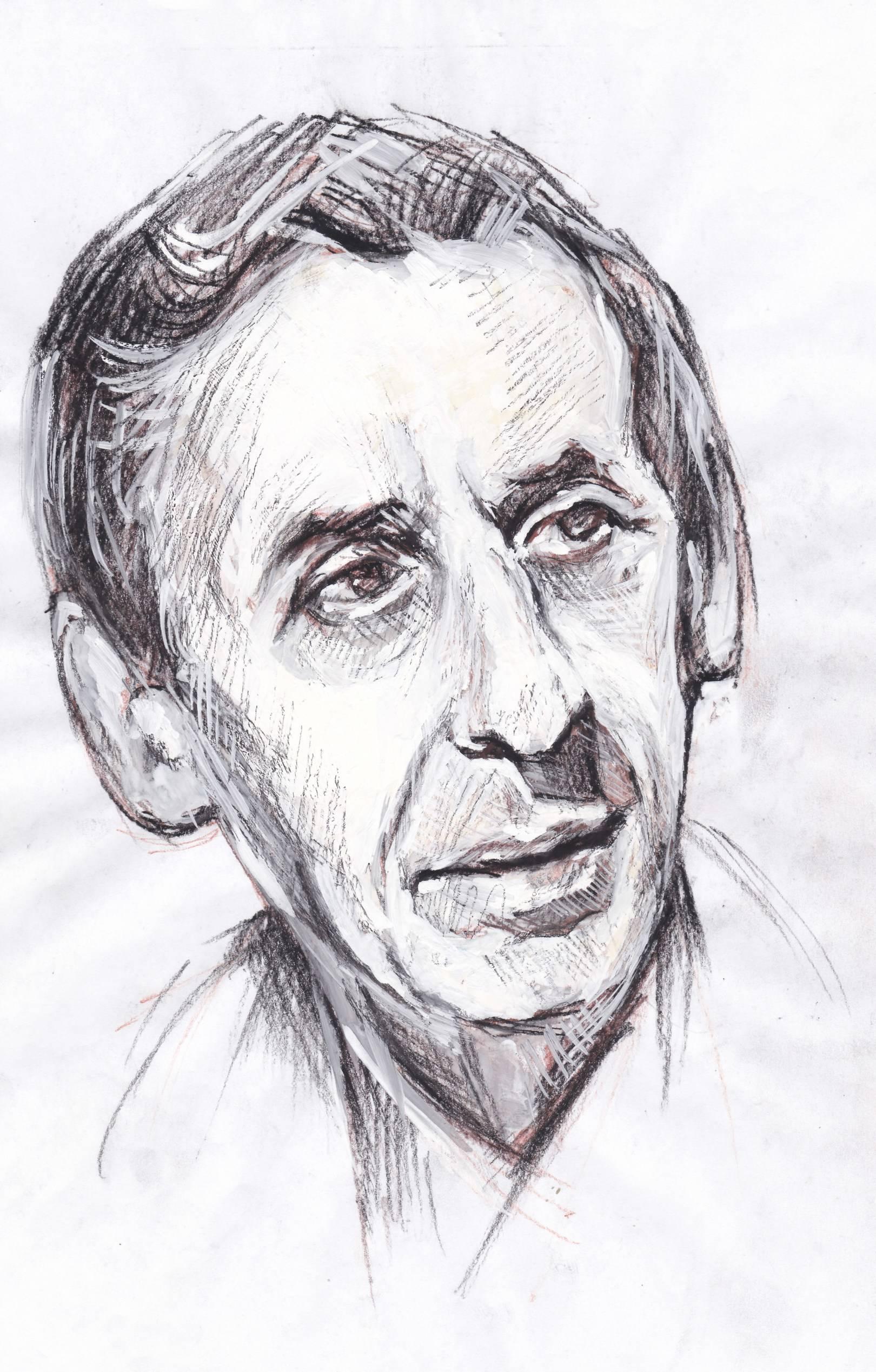 Набросок к портрету актёра и режиссёра Басова В.П.