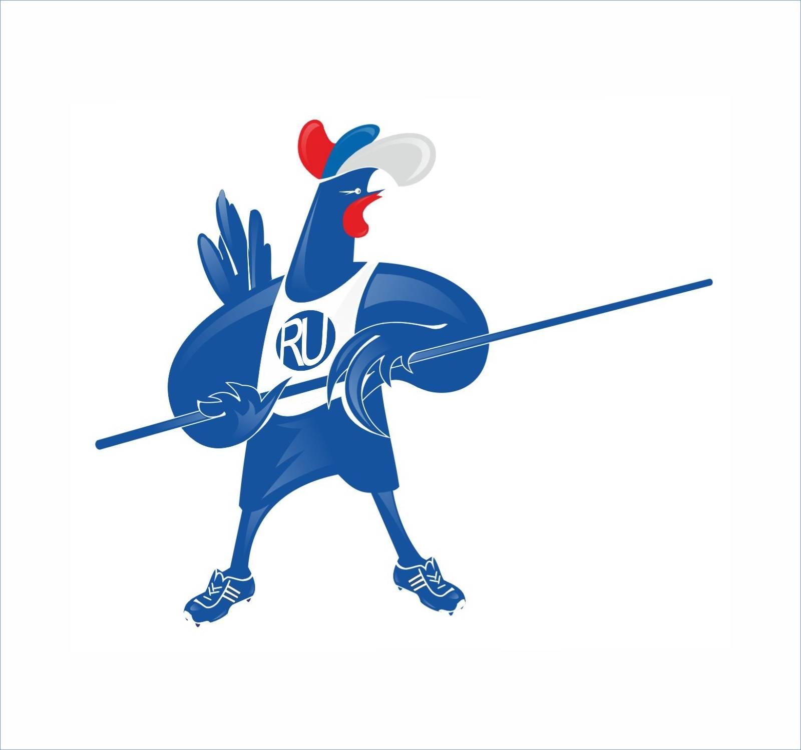 Эскиз ( вариант ) символа Московского чемпионата по лёгкой атлетике.