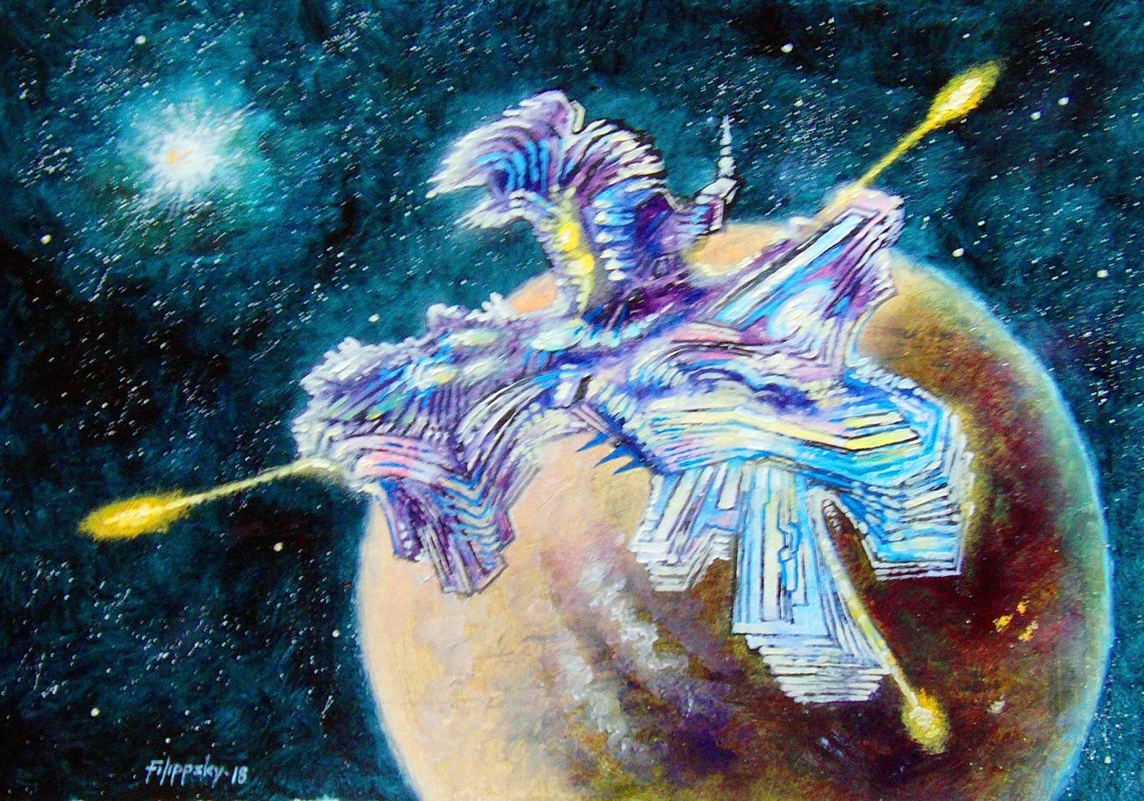 Нэсти-легендарная луна Венеры.