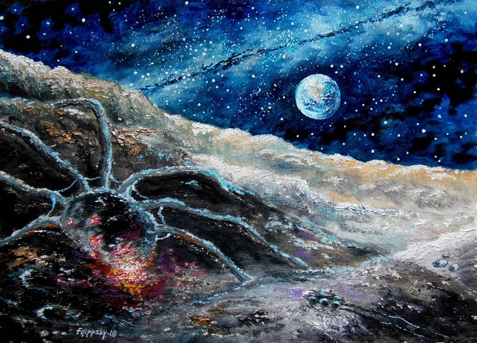Луна.Гость из бездны.