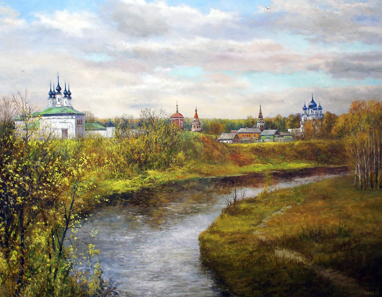 Золото России - холст/масло, 70х90, 2018