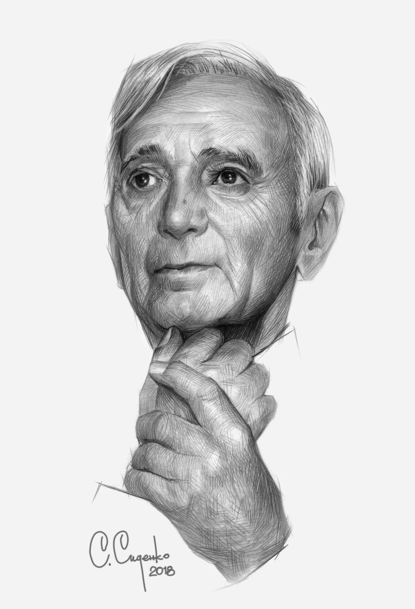 Шарль Азнаву́р (фр. Charles Aznavour, арм. Շառլ Ազնավուր; 22 мая 1924, Париж, Франция — 1 октября 2018, Мурьес, Франция) — французский шансонье, композитор, поэт, писатель и актёр армянского происхождения. Настоящее имя — Шахну́р Вахина́к Азнавуря́н (арм. Շահնուր Վաղինակ Ազնավուրյան). Будучи одним из популярнейших исполнителей Франции, он также хорошо известен далеко за её пределами. Является олицетворением французской песни. Азнавур написал около 1300 песен, сыграл в 60 фильмах и продал более 200 млн. дисков. Согласно совместному опросу журнала Time и телеканала CNN, Азнавур признан лучшим эстрадным исполнителем XX века, внесен в зал славы песенных авторов.  (Wikipedia)