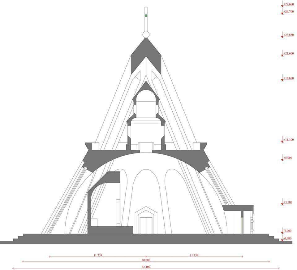 Конкурсный проект церкви