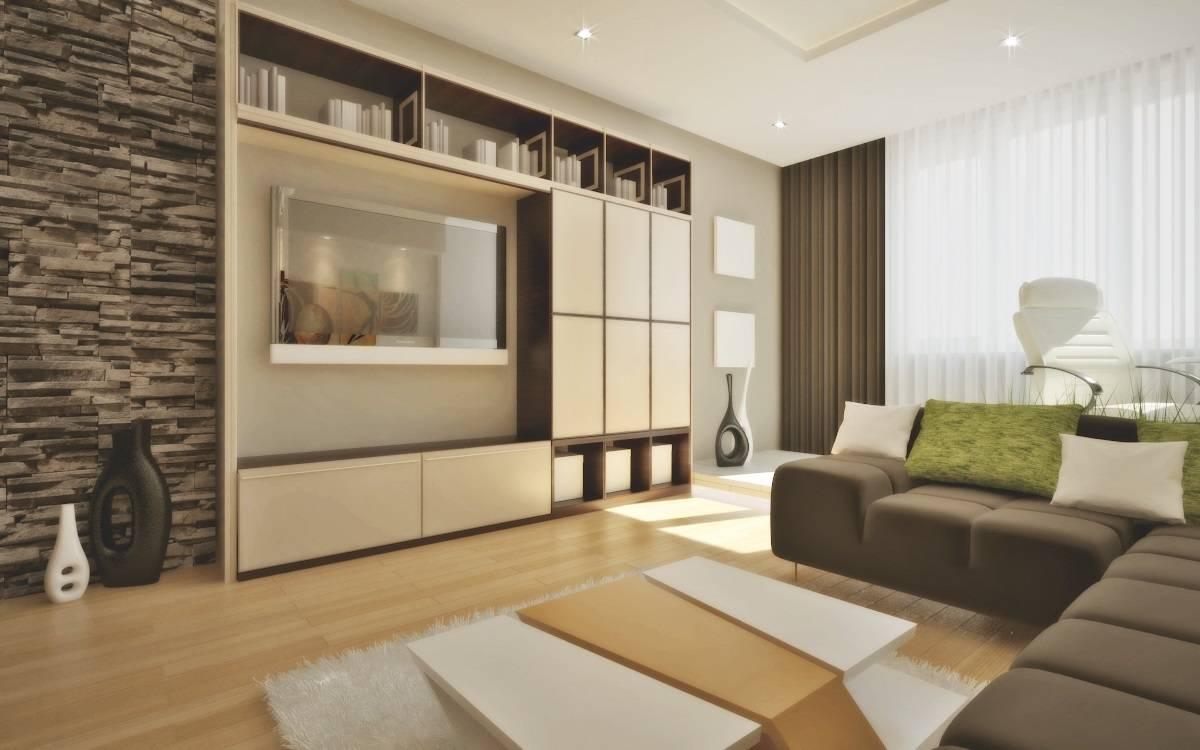 Дизайн квартиры 55 м кв