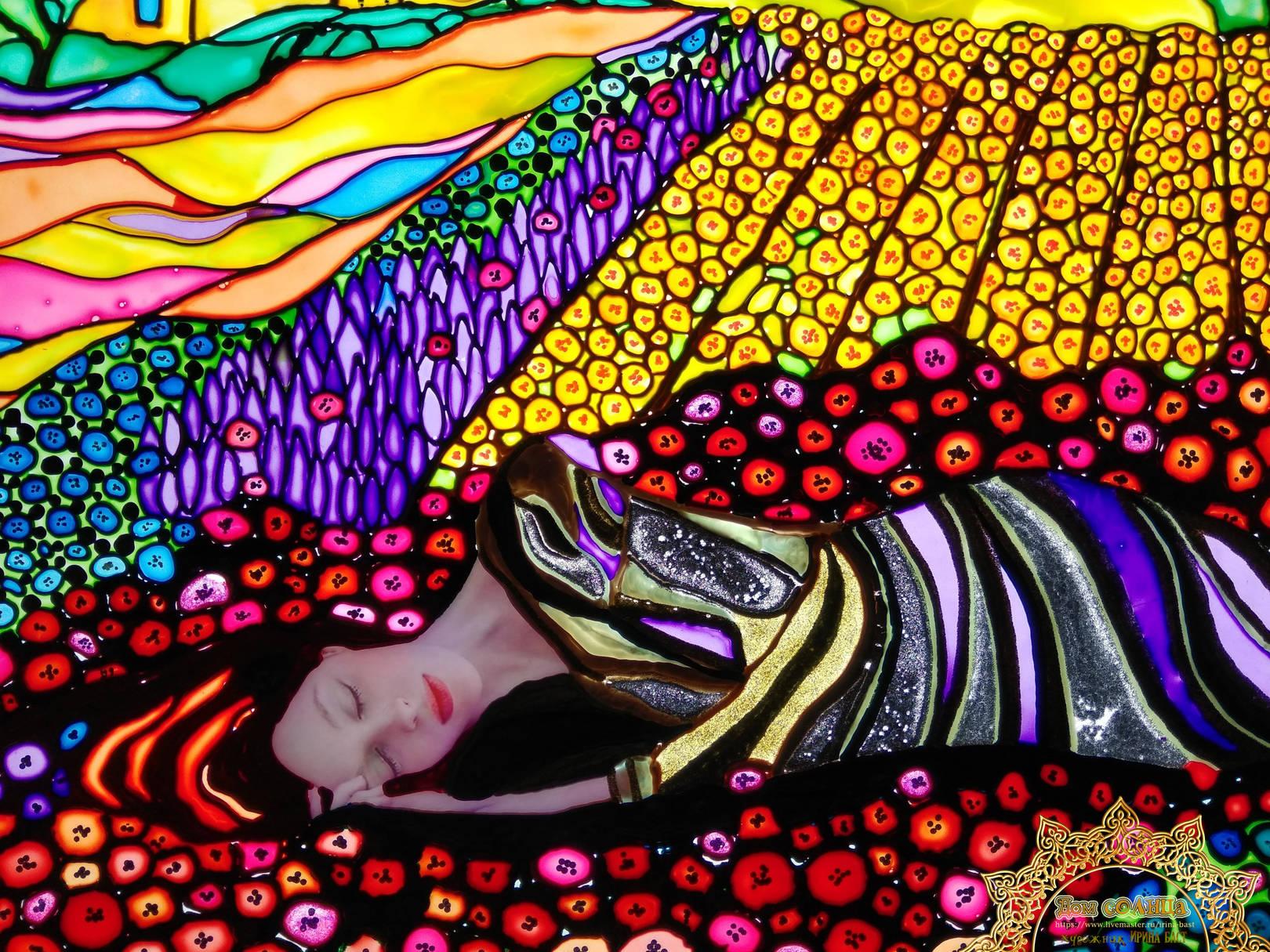 Картина с подсветкой Сон