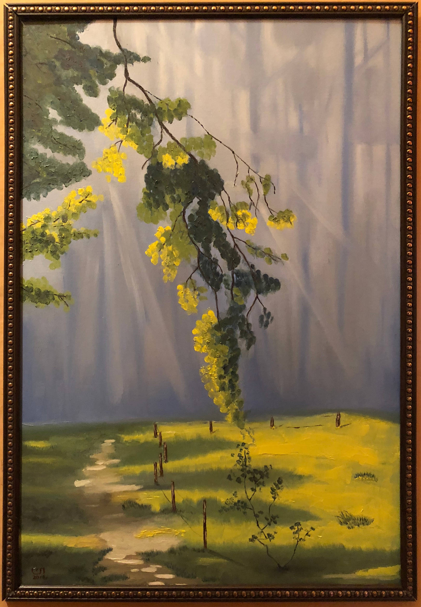 Field in the forest (40x60)