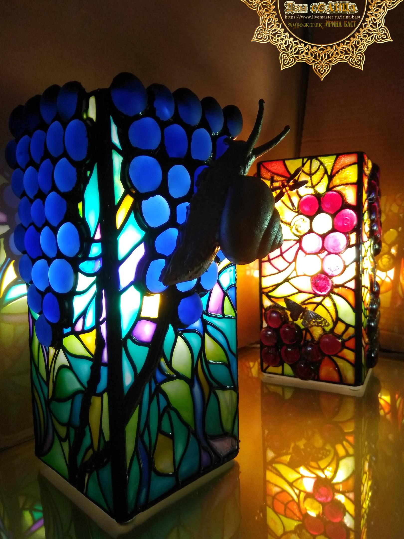 Лампа Виноградная улитка