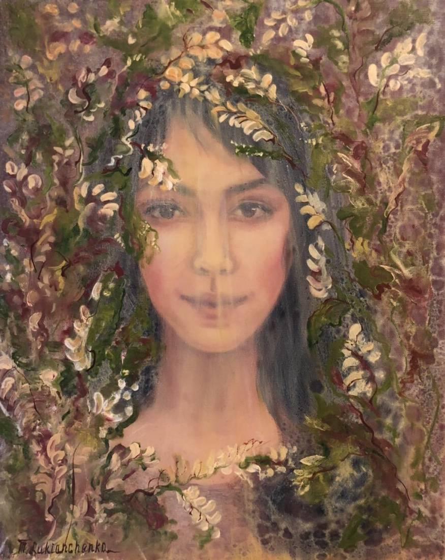 Цветочный портрет