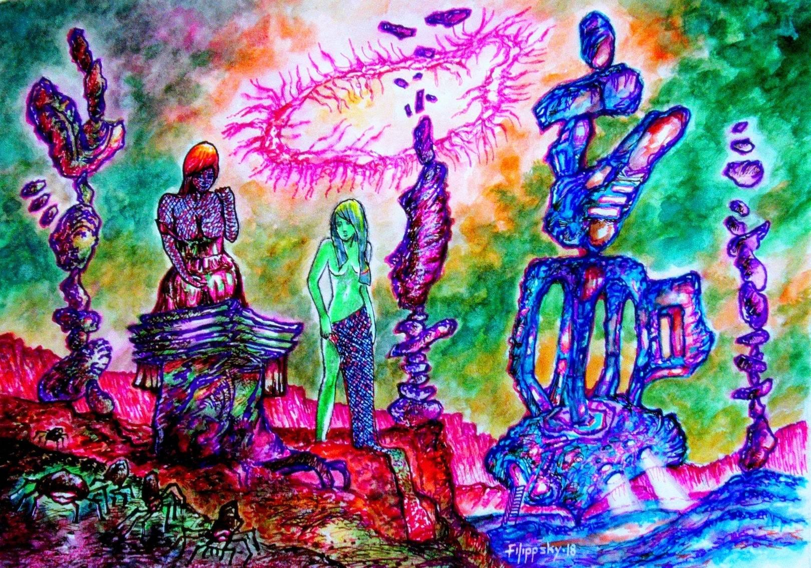 Планета балансирующих камней.