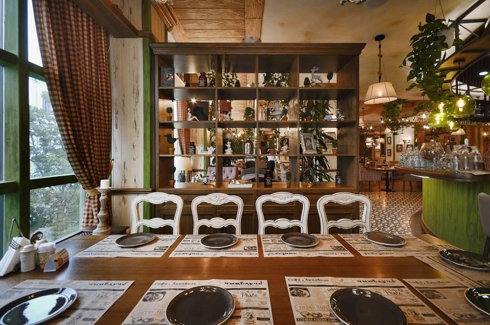 ALLARTSDESIGN закончили - Семейный итальянский ресторан «Чиполучо»