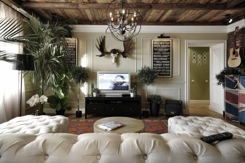 Российская студия ALLARSTDESIGN представила дизайн интерьера квартиры в Перми дизайнера Саранина Артемия - Saraninhome