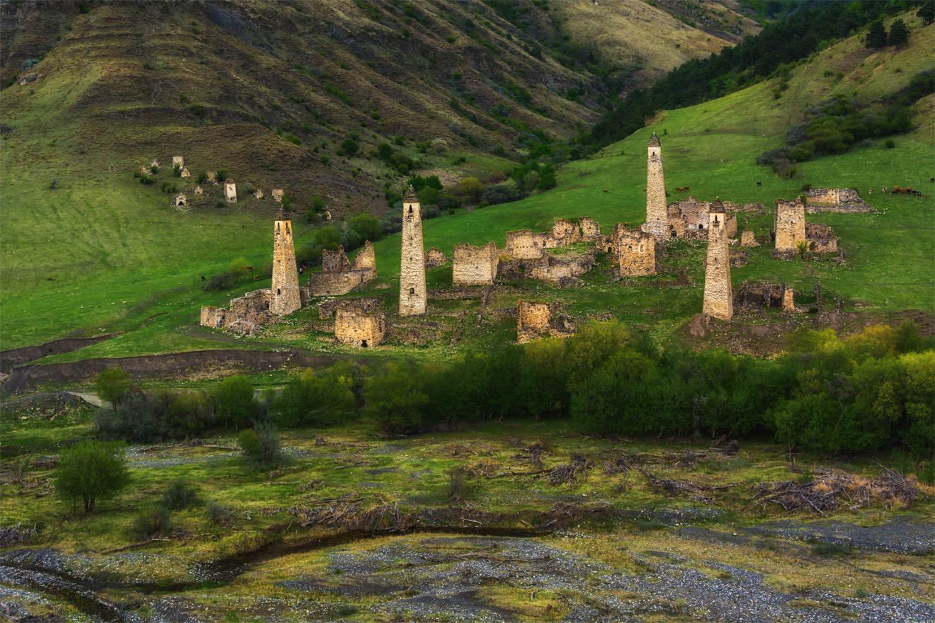 Боевые башни средневековья