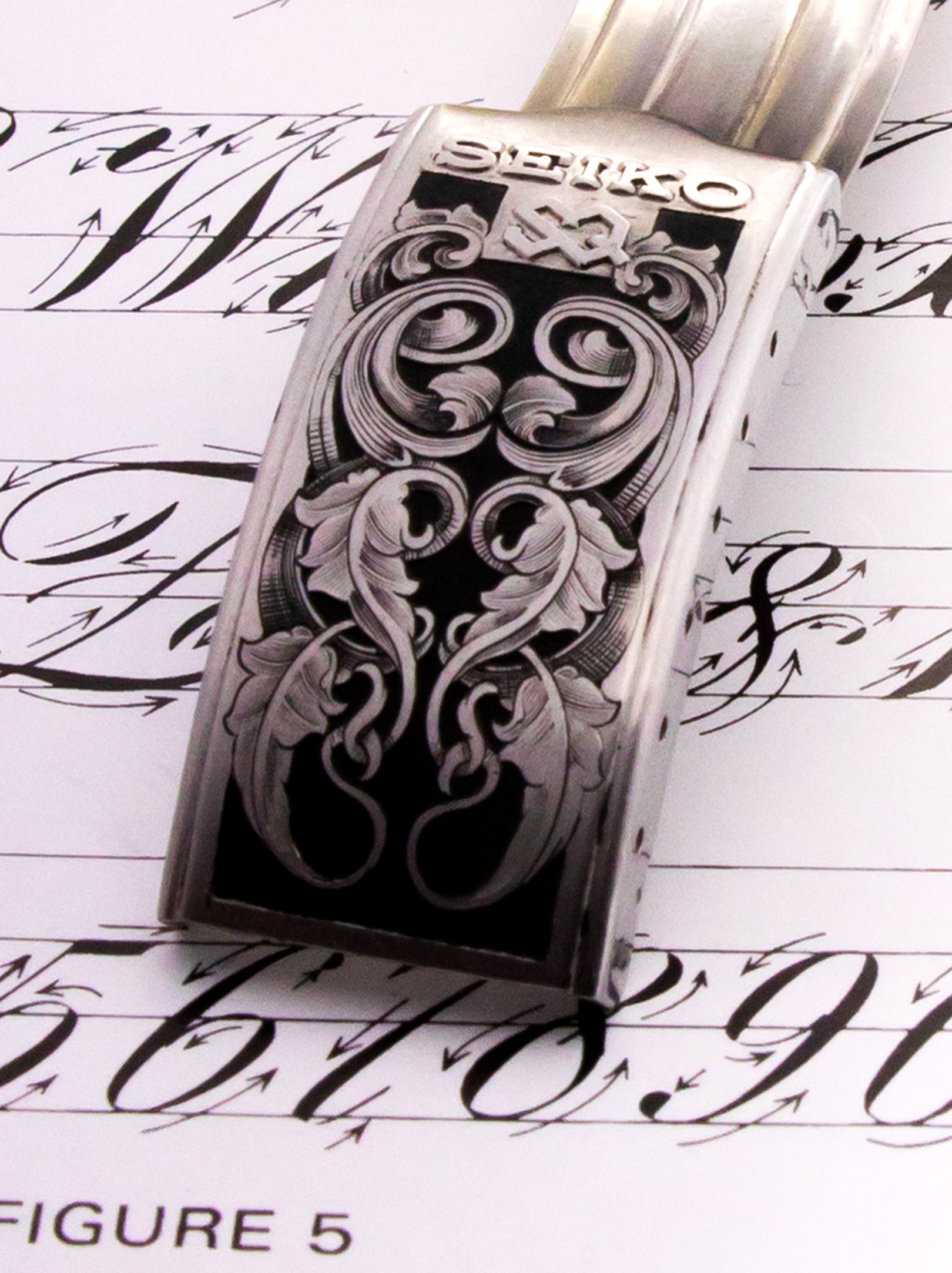 Engraving ornamental design