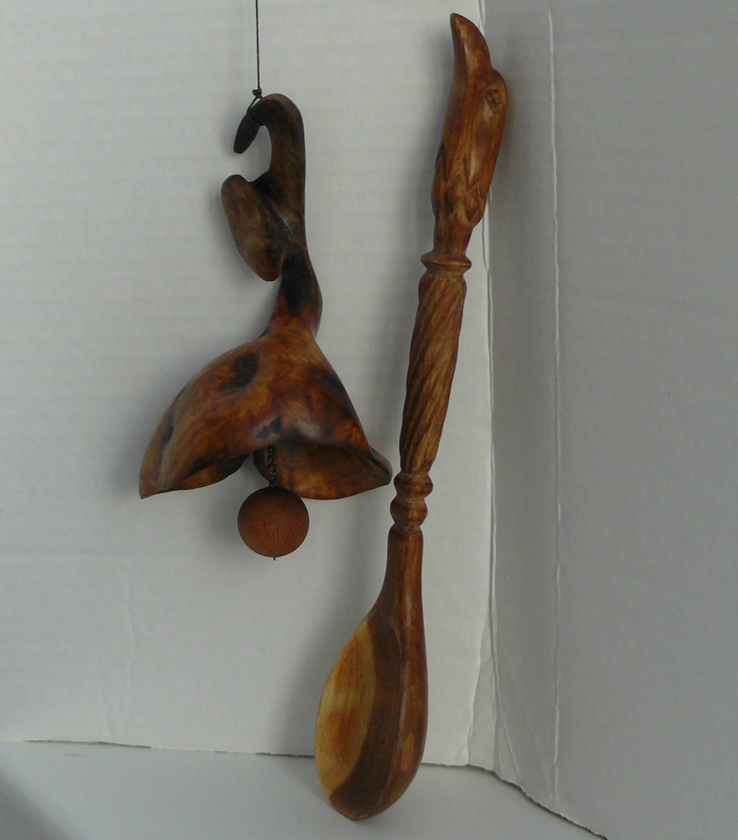 Колокольчик и ложка