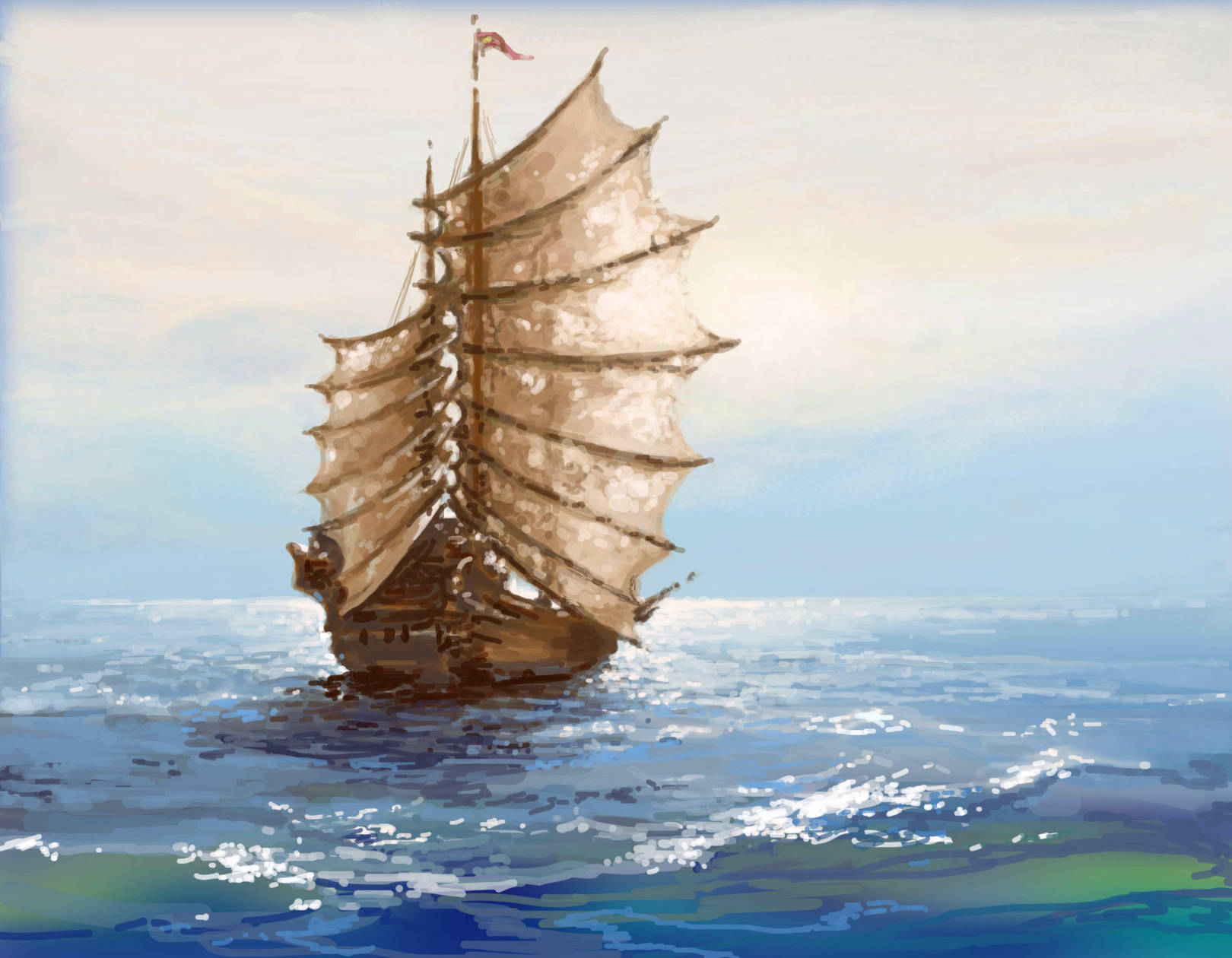 Море. WACOM