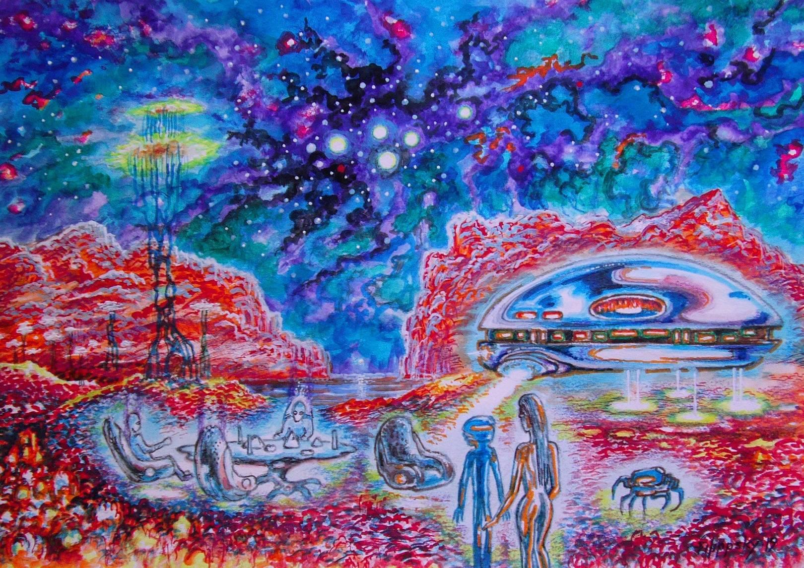 НЛО.Пикник на пути в Галактику.