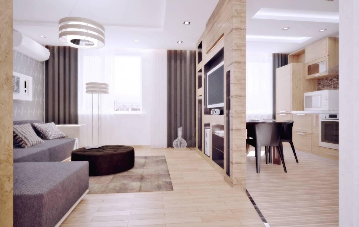 Дизайн квартры 55 м кв