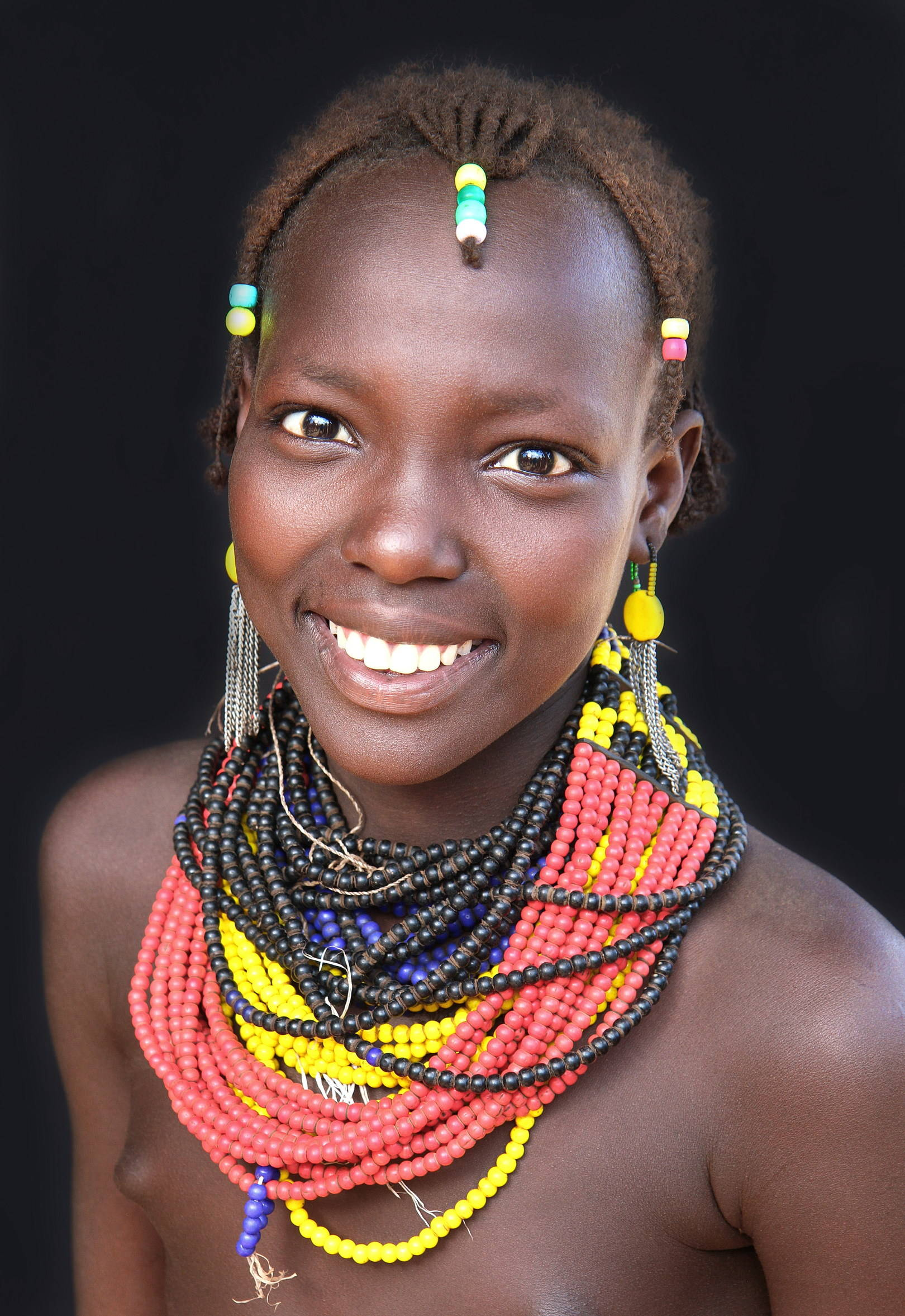 Девушка из племени Дассанеч