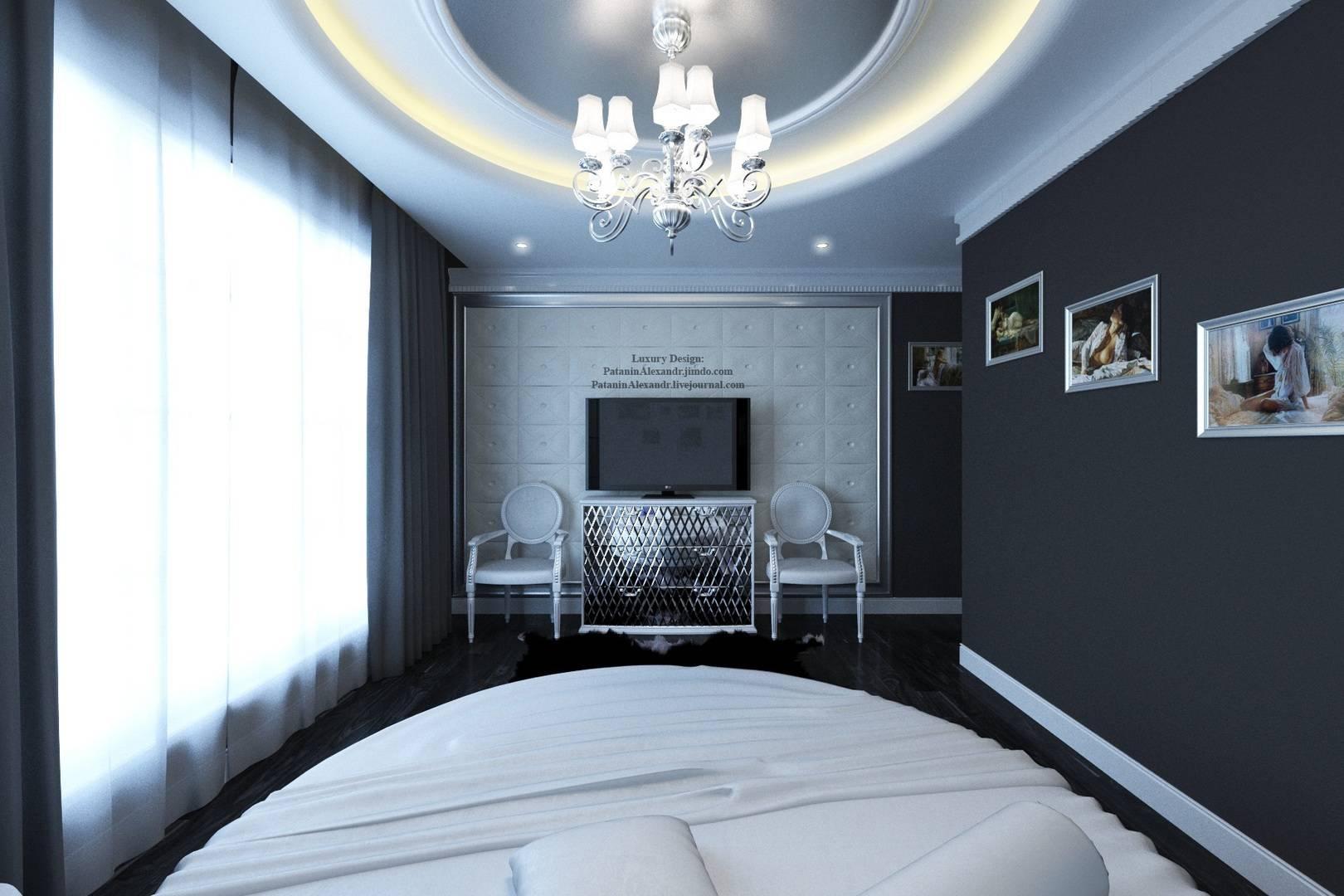 Badroom. Светлая спальня.