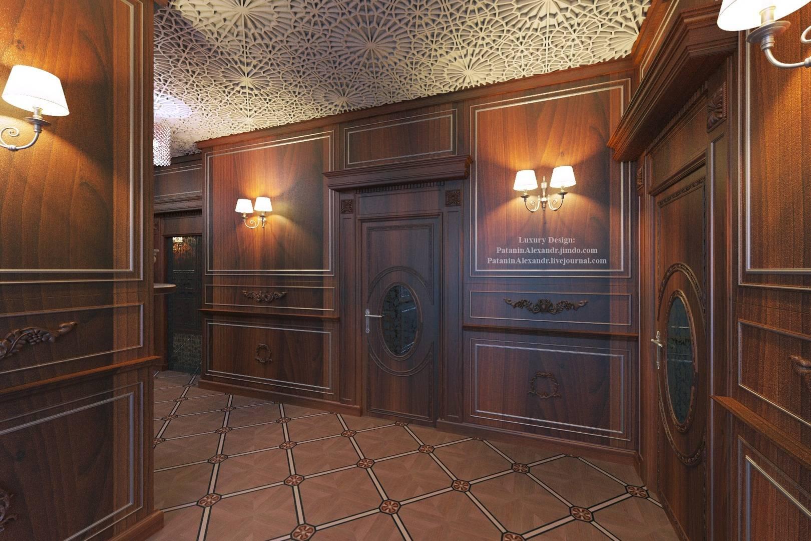 Corridor. Коридор.