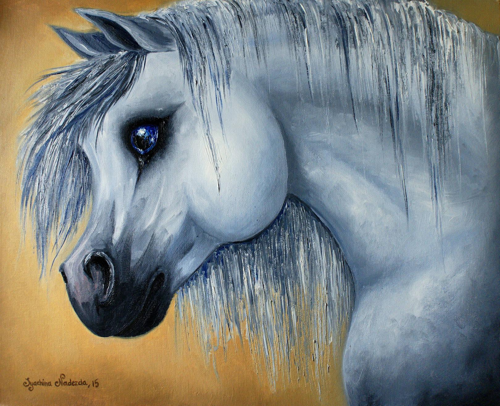 «Arabian equus» 40х50см; холст, масло. 2015 год