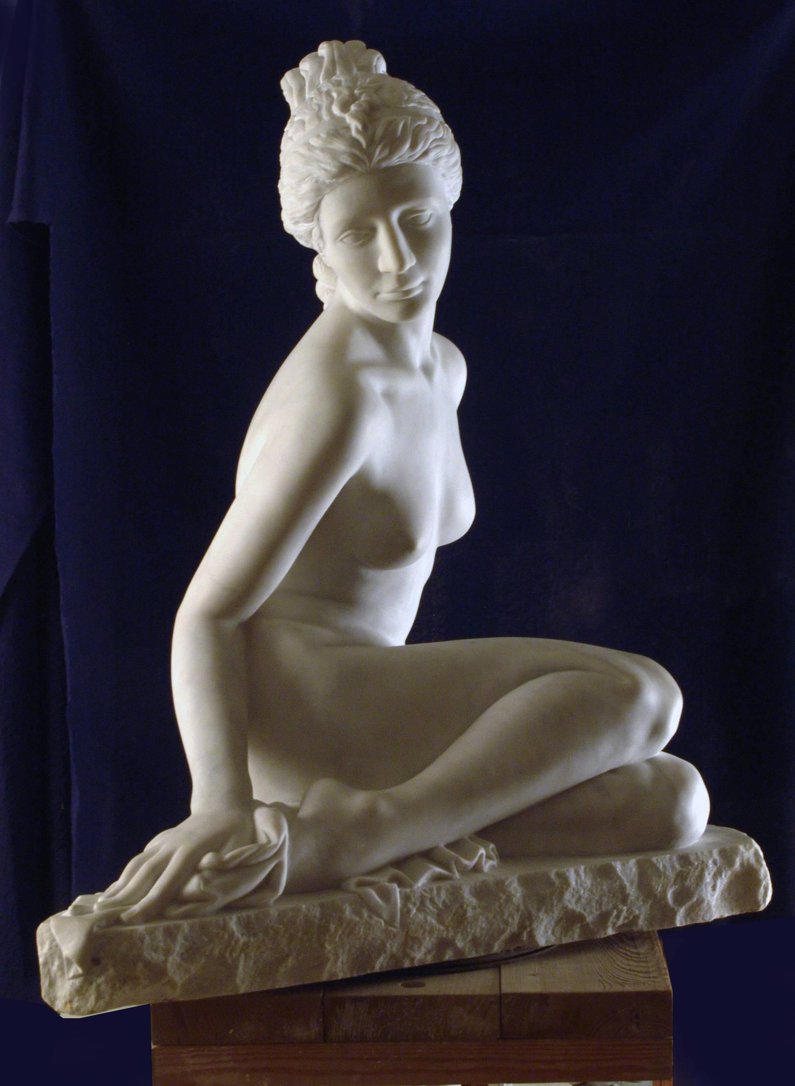"""Пробуждение"" Мрамор, 2002г. 650х580х820мм."