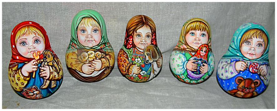 Неваляншки- дети