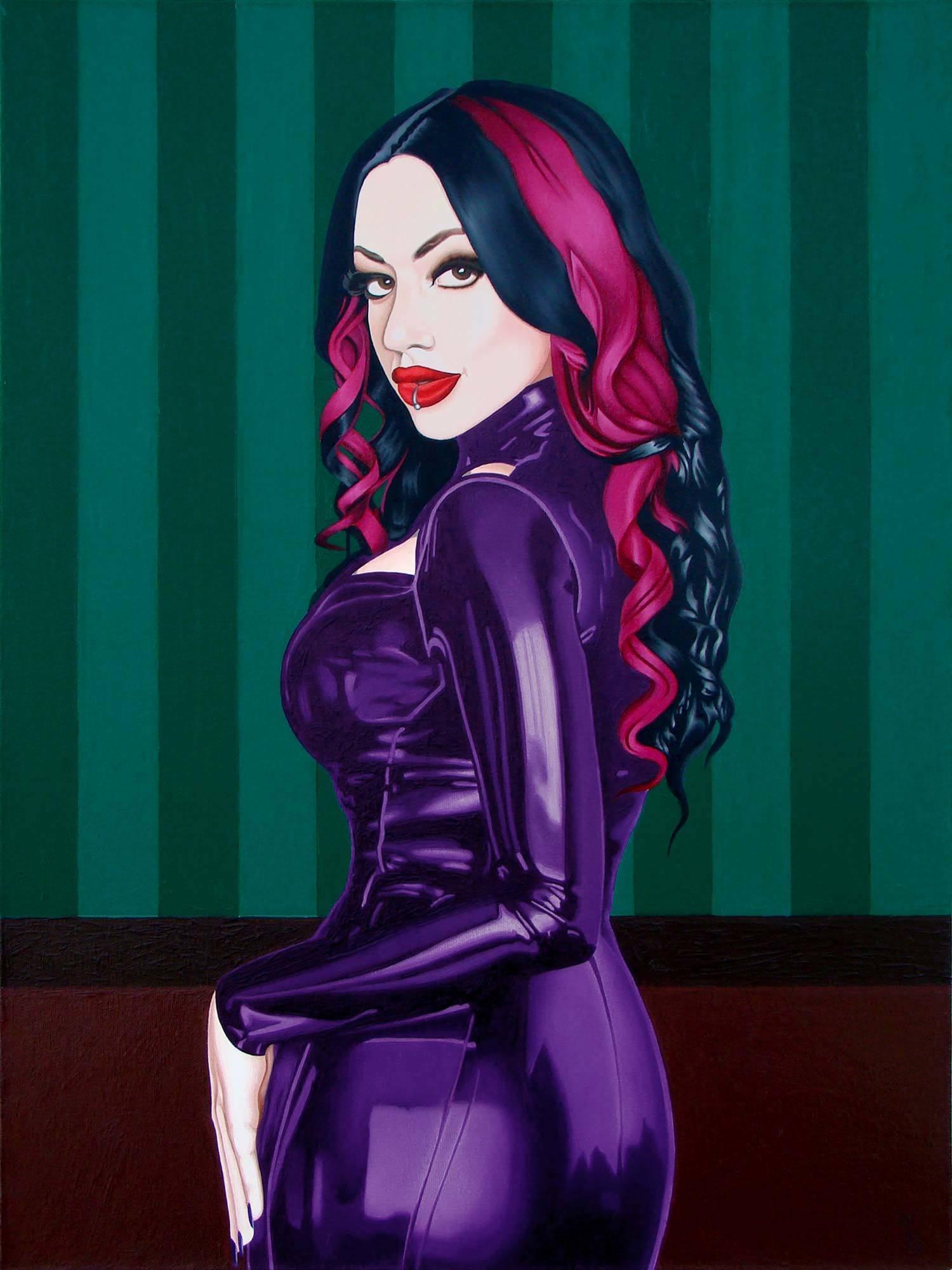 Danielle Harris холст/масло 80 см x 60 см