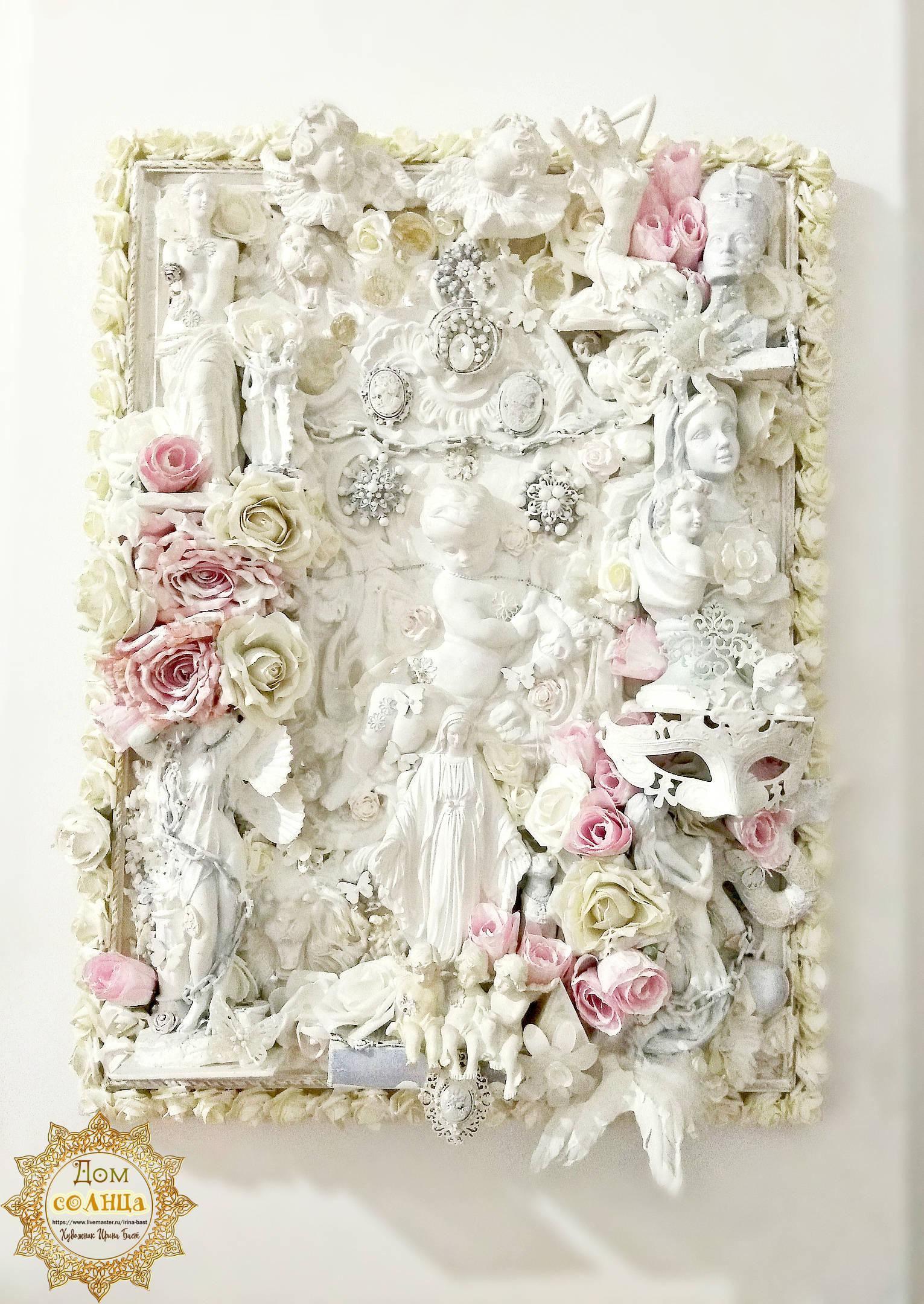 Картина-скульптура Богиня